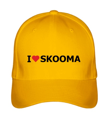 Бейсболка I love skooma