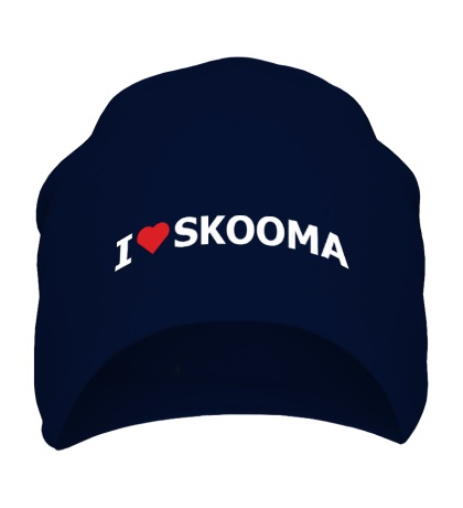 Шапка I love skooma