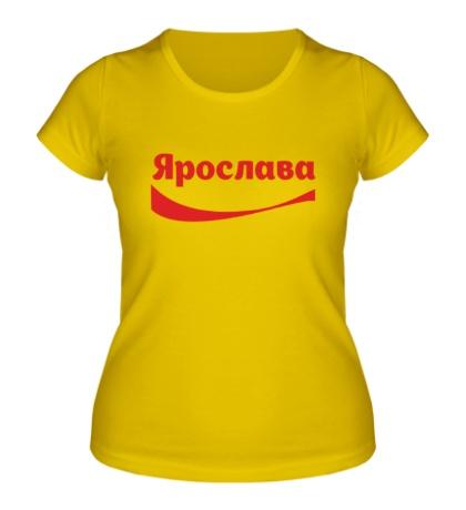 Женская футболка Ярослава