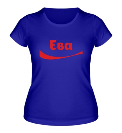 Женская футболка Ева