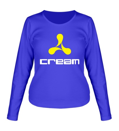 Женский лонгслив Cream