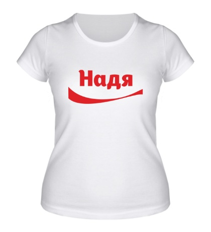 Женская футболка Надя