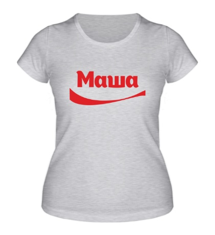Женская футболка Маша