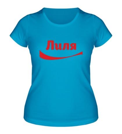 Женская футболка Лиля