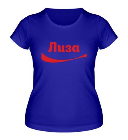 Женская футболка Лиза