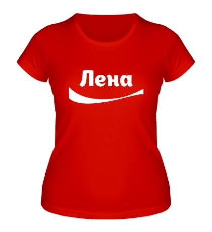 Женская футболка Лена