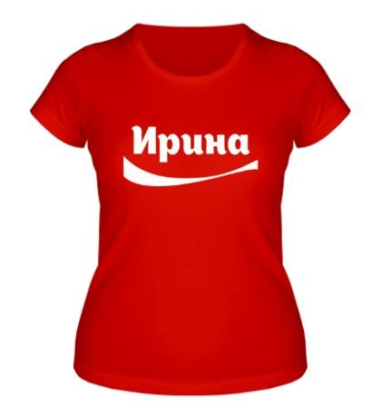 Женская футболка Ирина
