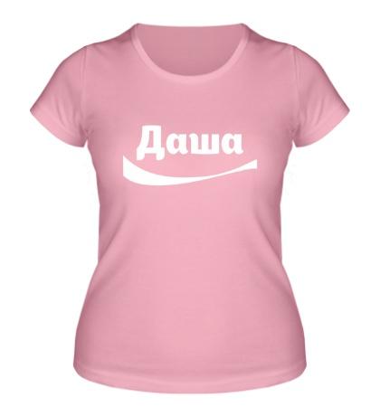 Женская футболка Даша