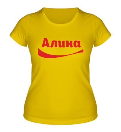 Женская футболка Алина
