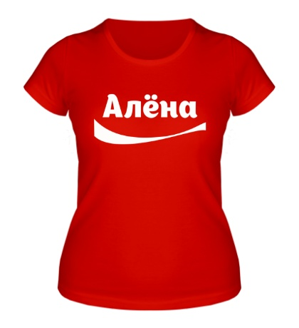 Женская футболка Алена