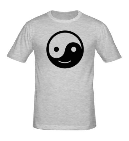 Мужская футболка Веселый Инь Янь