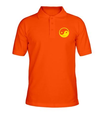 Рубашка поло Веселый Инь Янь