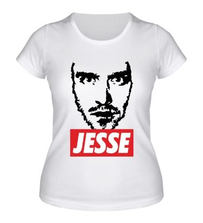 Женская футболка Danger Jesse