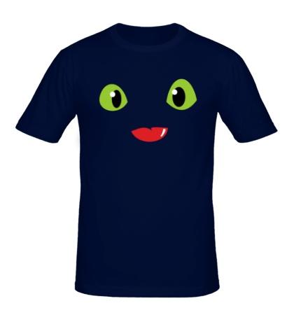 Мужская футболка Toothless Dragon