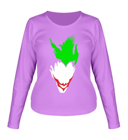 Женский лонгслив Abstraction Joker
