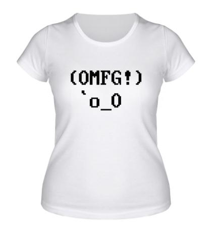 Женская футболка OMFG