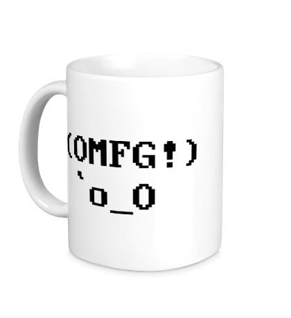 Керамическая кружка OMFG