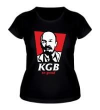 Женская футболка KGB, So Good