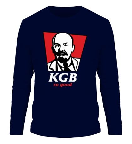 Мужской лонгслив KGB, So Good