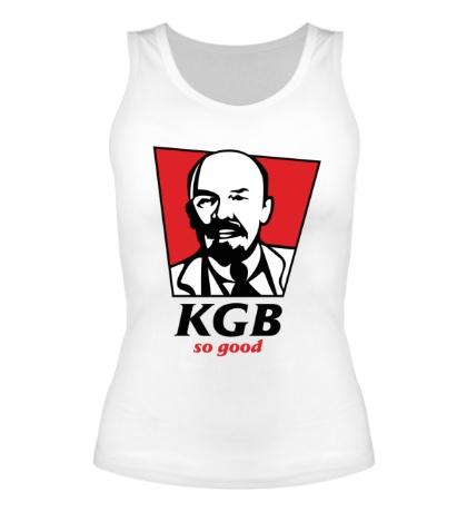 Женская майка KGB, So Good