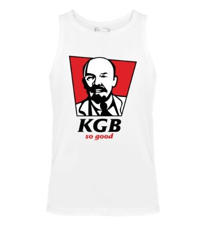 Мужская майка KGB, So Good