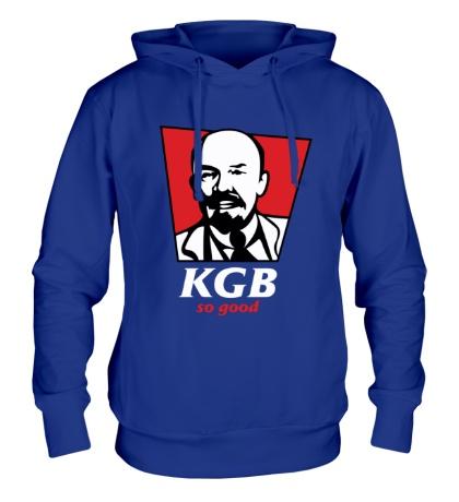 Толстовка с капюшоном KGB, So Good