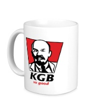 Керамическая кружка KGB, So Good
