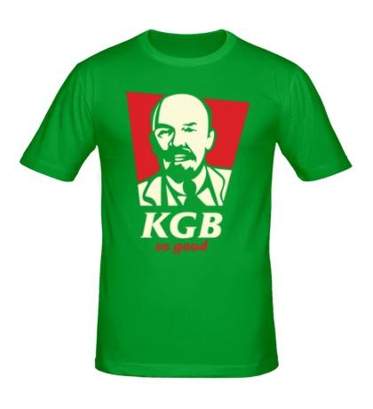 Мужская футболка KGB So Good Glow