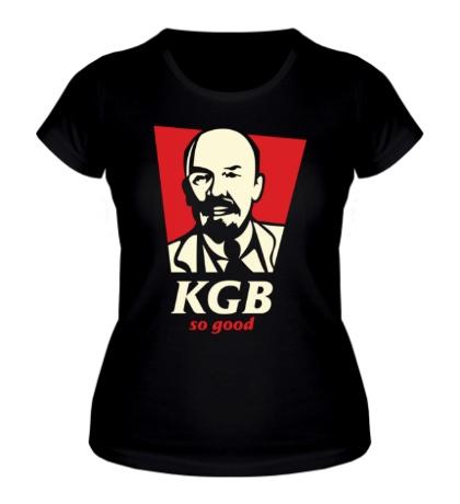 Женская футболка KGB So Good Glow