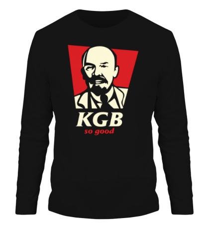 Мужской лонгслив KGB So Good Glow