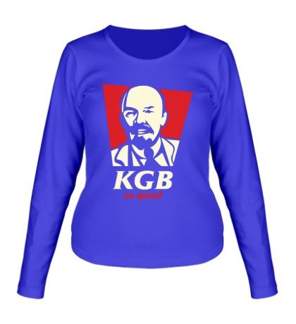 Женский лонгслив KGB So Good Glow