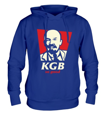Толстовка с капюшоном KGB So Good Glow