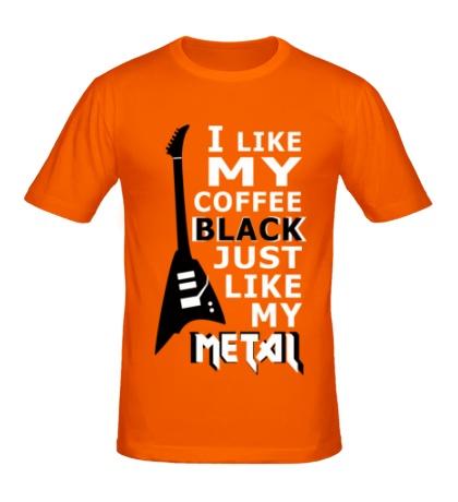 Мужская футболка Just Like my Metal