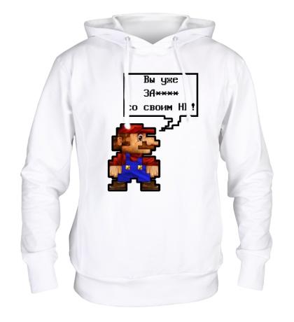 Толстовка с капюшоном Mario HD