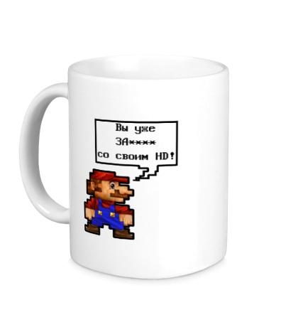 Керамическая кружка Mario HD