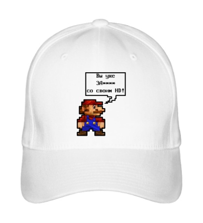 Бейсболка Mario HD