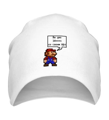 Шапка Mario HD