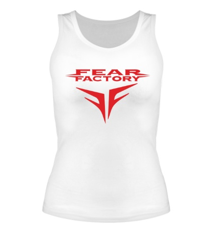 Женская майка «Fear Factory»