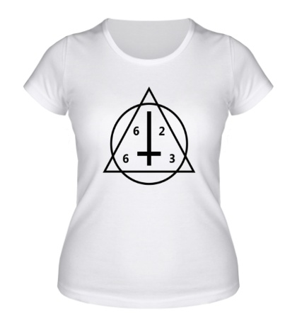 Женская футболка 6263 Geometry