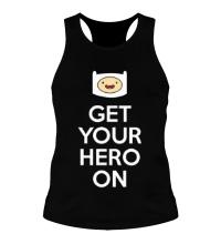 Мужская борцовка Get your hero on