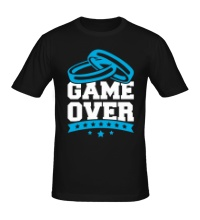 Мужская футболка Wedding: Game Over