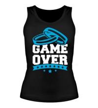 Женская майка Wedding: Game Over