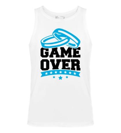 Мужская майка Wedding: Game Over