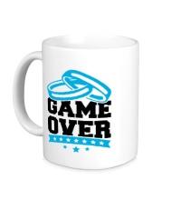 Керамическая кружка Wedding: Game Over
