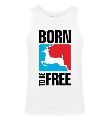 Мужская майка Born to be free