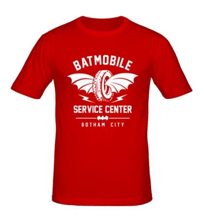 Мужская футболка Batmobile Service Center