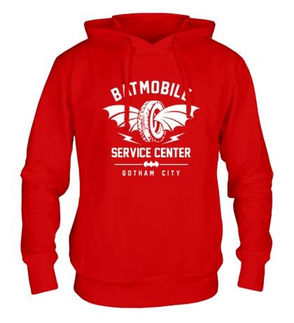 Толстовка с капюшоном Batmobile Service Center