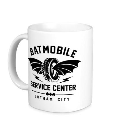Керамическая кружка Batmobile Service Center