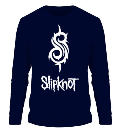 Мужской лонгслив Slipknot Logo