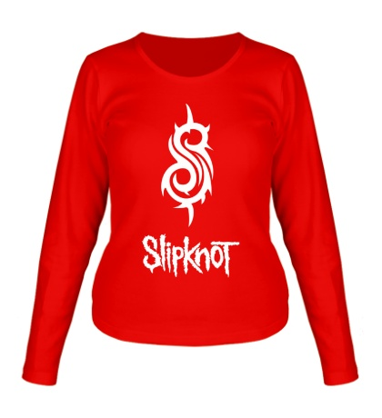 Женский лонгслив Slipknot Logo